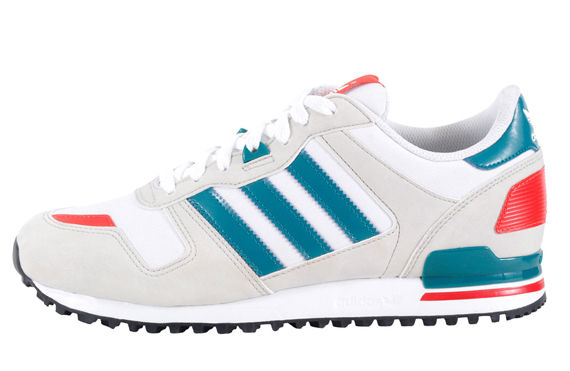 competitive price 2a562 1f648 adidas Originals ZX 700 - White - Teal - Red - SneakerNews.com
