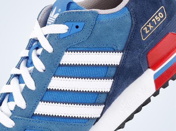 Educación escolar Saturar Subrayar  adidas Originals ZX 750 - Bluebird - Dark Slate - SneakerNews.com