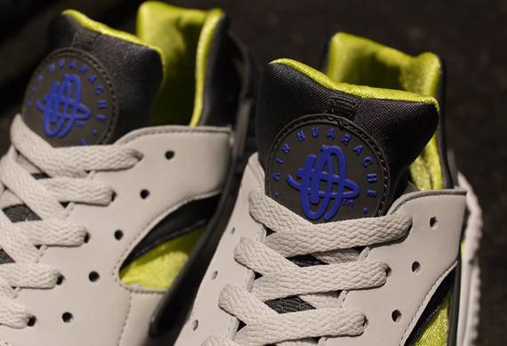 ad00d4fb6b5a Nike Air Huarache - White - Cyber - Anthracite - Blue - SneakerNews.com