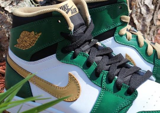 """Air Jordan 1 """"Celtics"""" – Arriving at Retailers"""