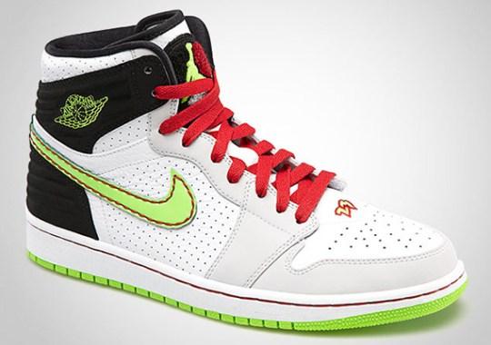Air Jordan 1 Retro '93 – White – Electric Green – Black – Neutral Grey – Gym Red