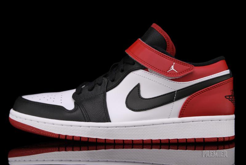 commercialisable vraiment à vendre Air Jordan 1 Faible Sangle Orteil Noir BnTSZBl