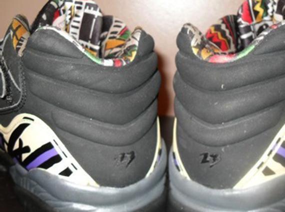 Air Jordan VIII Low - Mike Bibby Sacramento Kings