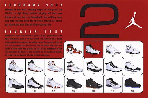 a2c248e284e History of Air Jordan Retro Cards - SneakerNews.com