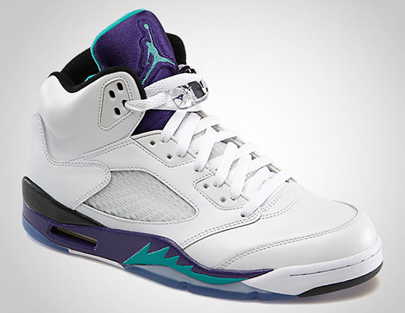 "Air Jordan V ""Grape"" - Official Images - SneakerNews.com"