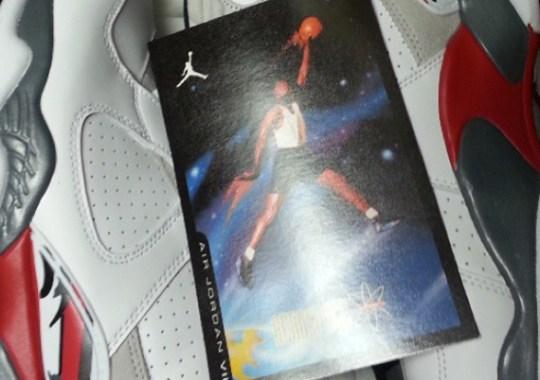 "Air Jordan VIII ""Bugs"" to Include Retro Card"