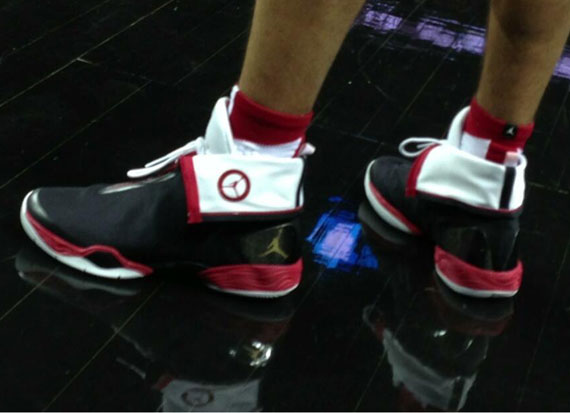 timeless design e47d1 bafdc ... czech jordan brand outfitted the youngsters in this great pe colorway  of the air jordan xx8