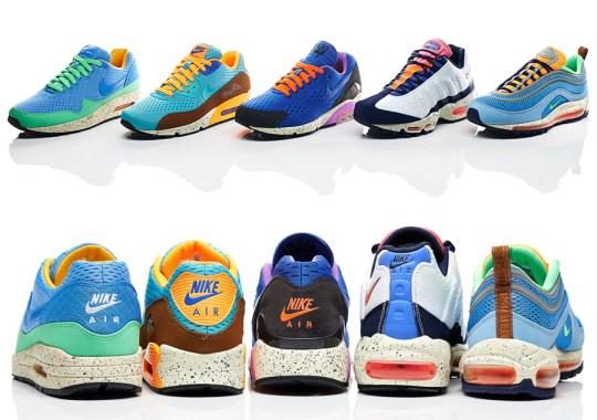 """Nike Air Max EM """"Beaches of Rio"""" Pack"""