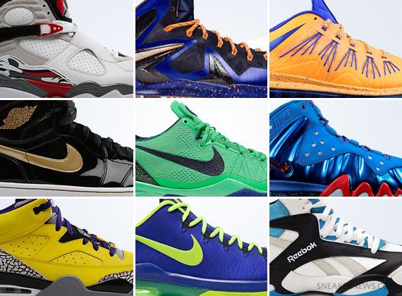April 2013 Sneaker Releases