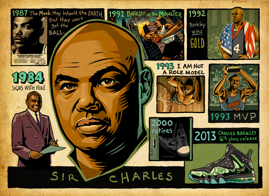 Charles Barkley: Past Meets Present In Nike Barkley Posite Max