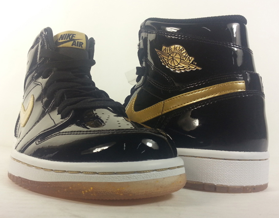 air jordan 1 black and gold for sale