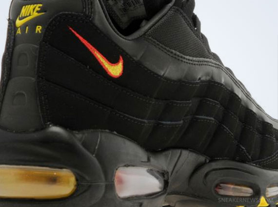 Nike Air Max 95 Black Grey Yellow