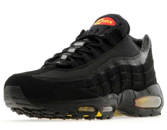 info for 5cf12 6e4a2 Nike Air Max 95 - Black - Yellow - Red - SneakerNews.com