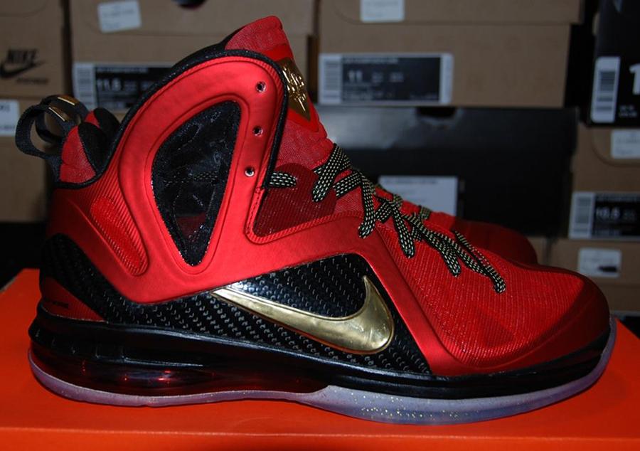 "Nike LeBron 9 Elite ""Championship"" on eBay - SneakerNews.com"