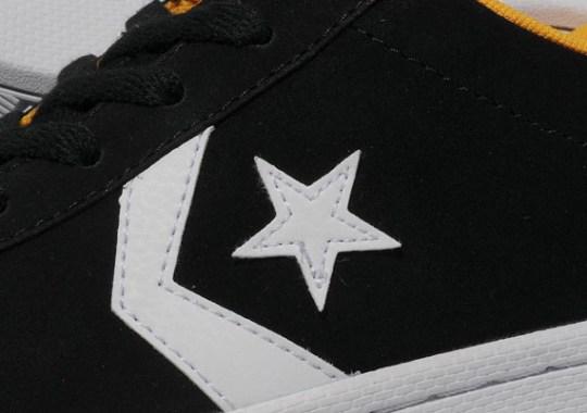 Converse Pro Leather Low – Black – White – Yellow
