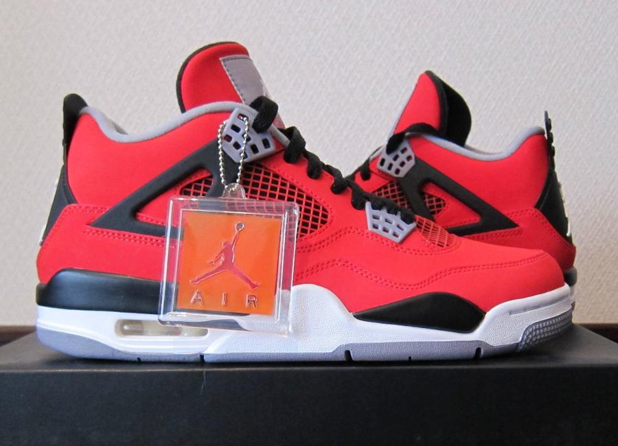 Air Jordan 4 Rojo Fuego Ebay 8Thqi7l4