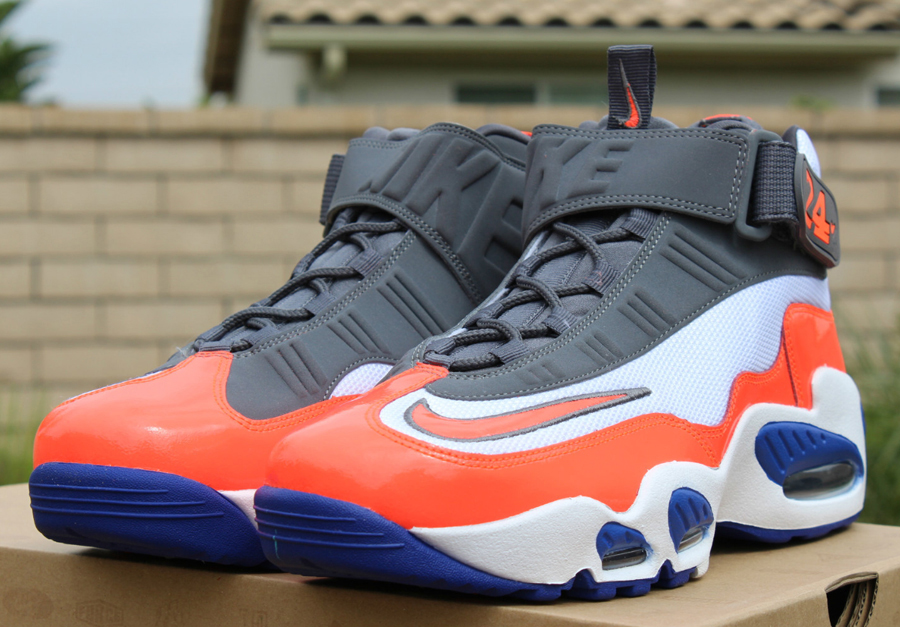 Nike Air Griffey Max 1 Grau Weiß Orange