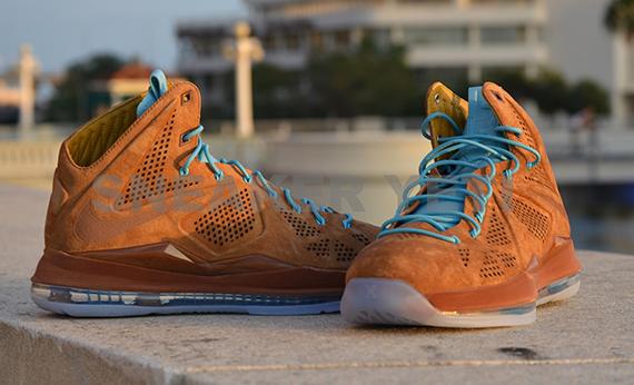 Nike lebron 10 hazelnut sz 11