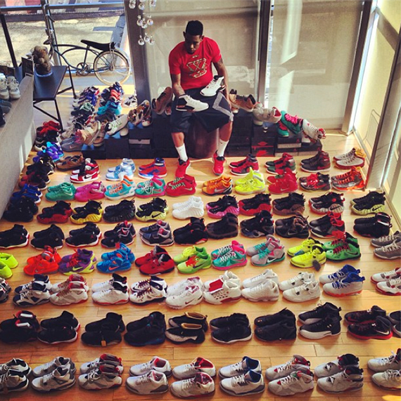 Chris brown shoes collection