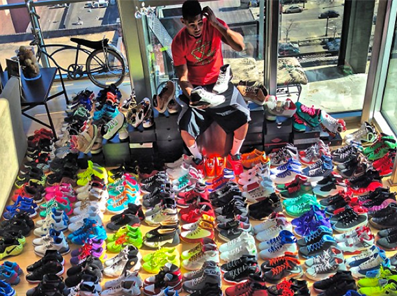 We See You Joe Cleveland Browns Defensive Extraordinaire Has A Pretty Serious Sneaker Game And Quite The Neat Tidy Arrangement Of Kicks