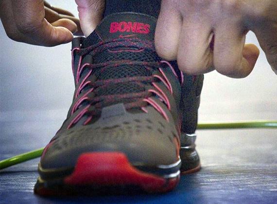"purchase cheap f9aed eaef3 Jon ""Bones"" Jones x Nike Free Trainer 5.0"