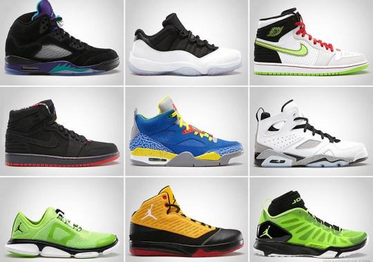 Jordan Brand June 2013 Footwear