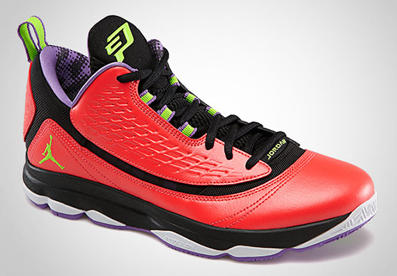 new concept 91f65 e7c35 ... wholesale jordan cp3.vi ae bright crimson electric green black violet  pop sneakernews 534d8 a484f