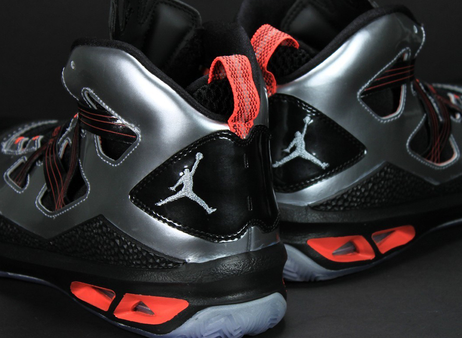 competitive price e533c 24e02 Jordan Melo M9 - Black - Silver - Crimson   Unreleased Sample -  SneakerNews.com