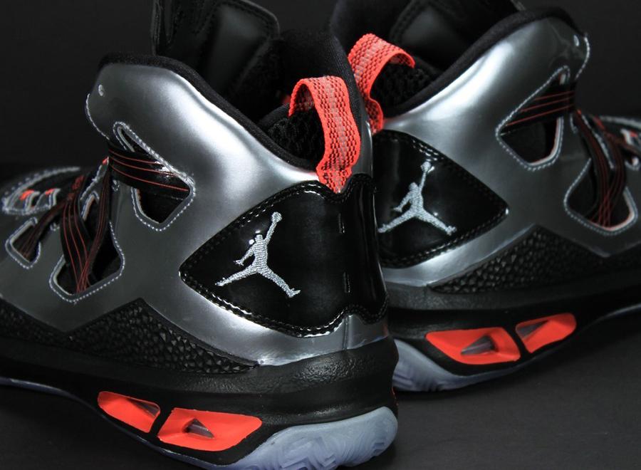 competitive price db156 16d0d Jordan Melo M9 - Black - Silver - Crimson   Unreleased Sample -  SneakerNews.com