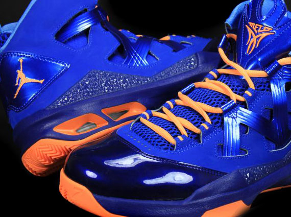 sale retailer 7e7f3 2c88d Jordan Melo M9 – Royal – Orange – Unreleased Sample