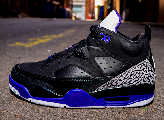 new concept 9a617 703cf Jordan Son of Mars Low Black Grape Ice-White 580603-008 04 27 13