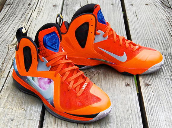 "detailed look 178a3 eba35 Nike LeBron 9 Elite ""Big Bang-Alike"" Customs by GourmetKickz"