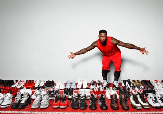 Nate Robinson's Air Jordan Collection