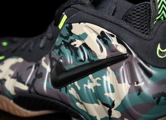 "Nike Air Foamposite Pro ""Camo/Gum"""