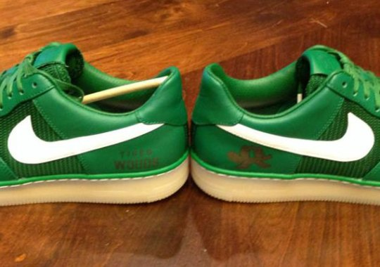 """Nike Air Force 1 Downtown – Tiger Woods """"The Masters 2013"""" PE"""