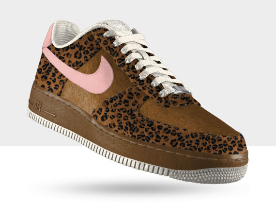 nike air force 1 leopardate