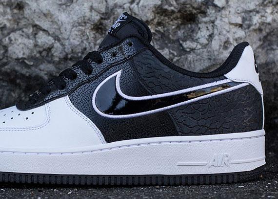 2b7906834e Nike Air Force 1 Low - Black - White - Elephant - SneakerNews.com