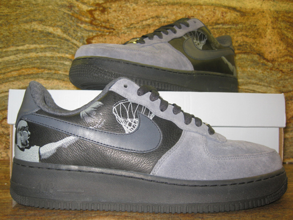 """new product e9323 3fa1e Advertisement. The above is the released version of the Nike Air Force 1  Low """"Tony Parker"""" ..."""