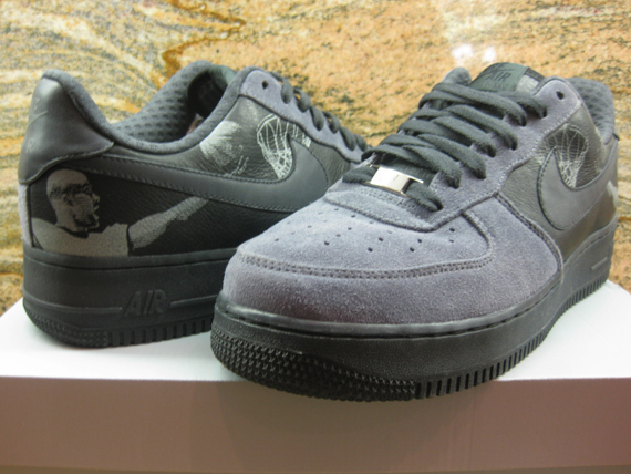 """quite nice 0997b 316fe The above is the released version of the Nike Air Force 1 Low """"Tony Parker""""  of the New Six Pack."""