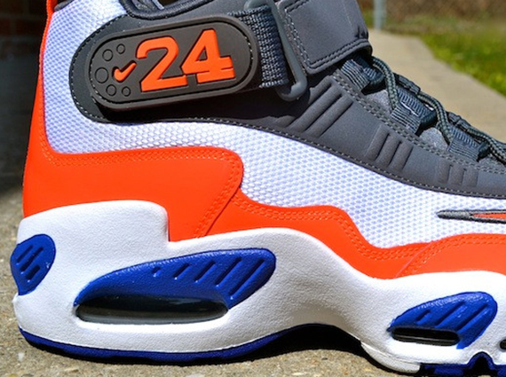 best deals on 62110 9ddf5 Nike Air Griffey Max 1 – White – Total Crimson – Hyper Blue