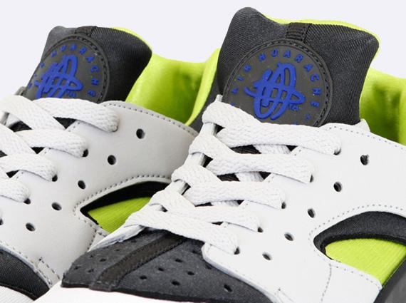11af841ef229 Nike Air Huarache - White - Cyber - Anthracite - SneakerNews.com