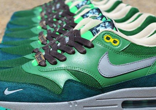 """Nike Air Max 1 """"Dr. Doom"""" Customs by Jwdanklefs"""