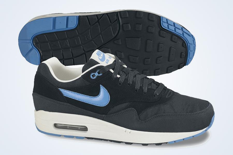 Nike Air Max 1 Premium Black Blue Camo