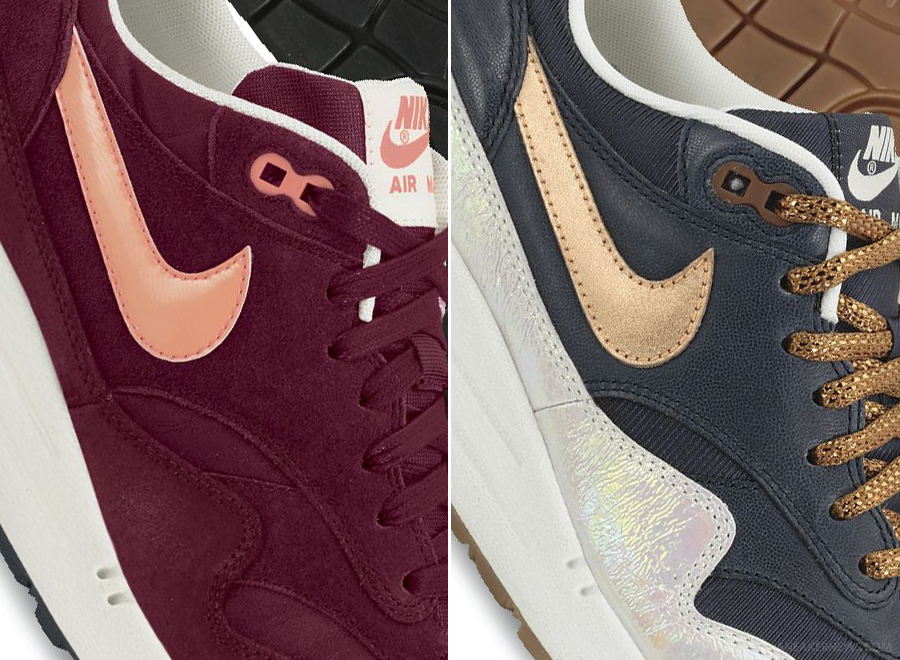 brand new 5aed7 aba39 Another preview of Nike Air Max 1 releases arrives in Premium form as get a  nice look at five upcoming colorways that will start hitting retailers  during ...