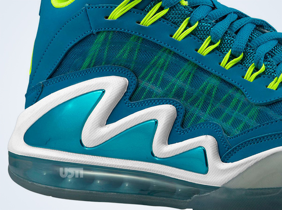 competitive price 97a89 777b1 Nike Air Max 360 Diamond Griff Neo Turquoise Volt-White 580398-400 05 11 13   170. Advertisement