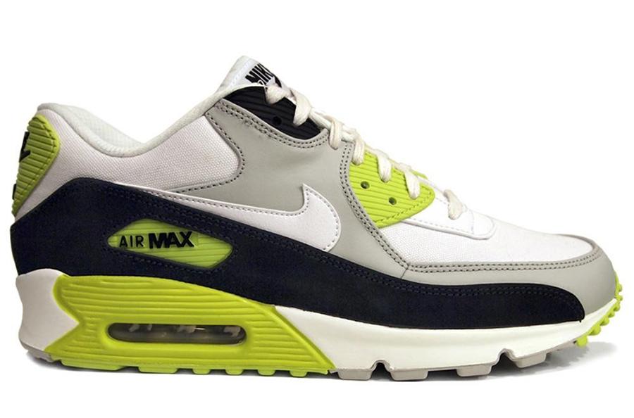 Nike Air Max 90 Dark Brown Crocodile Skin WhiteMean Green