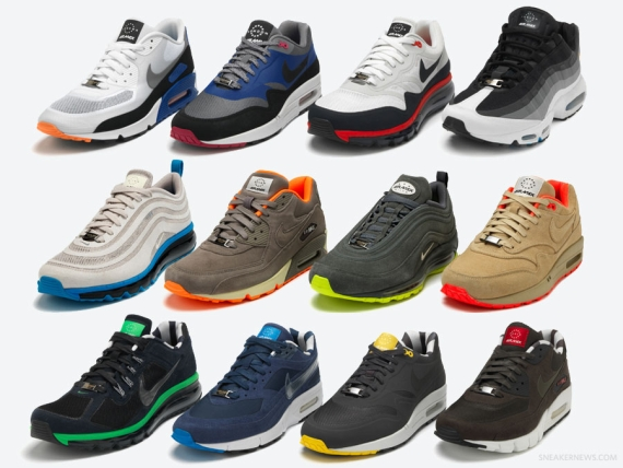 "sale retailer 5f1eb 74c89 Nike Air Max ""Home Turf"" Collection - US Release Info - SneakerNews.com"