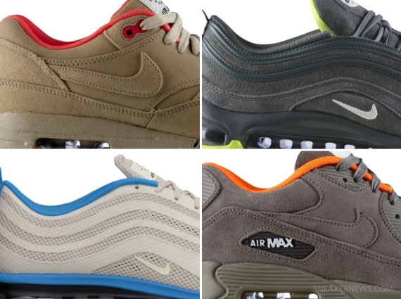 """After an initial release at certain spots overseas, the Nike Air Max  """"HomeTurf"""" Collection is indeed coming to the states, with each """"City""""  being released ..."""