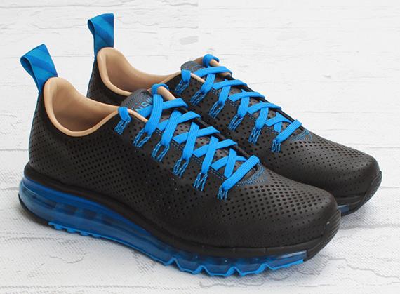 finest selection 11f55 15de0 Nike Air Max Motion NSW – Black – Photo Blue