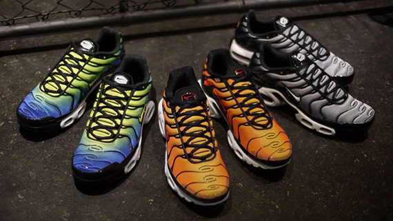 release date 5e224 5982f Nike Air Max Plus - April 2013 Colorways - SneakerNews.com